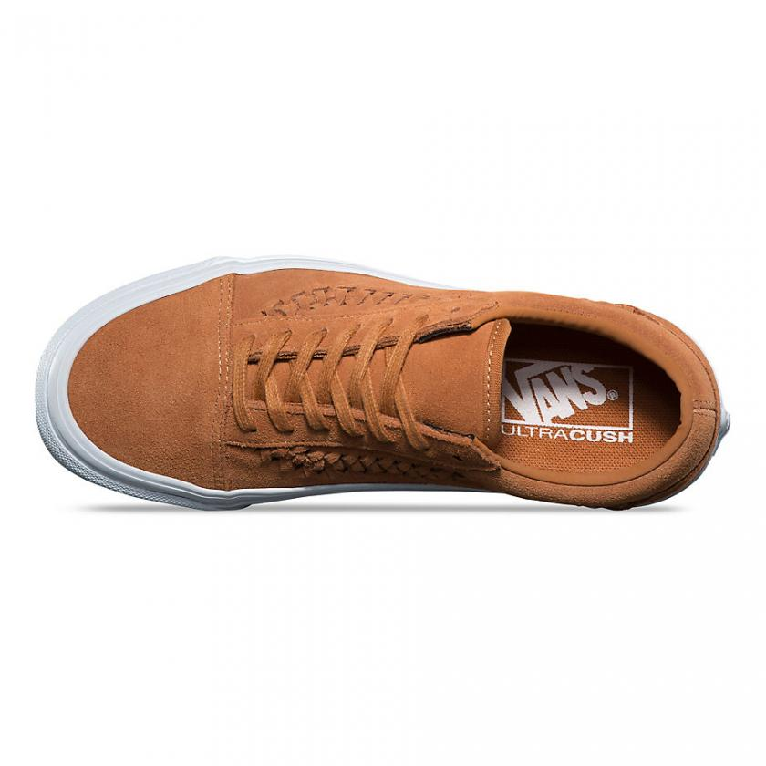 Vans Old Skool – Damen Suede Old Skool Weave Glazed Ginger