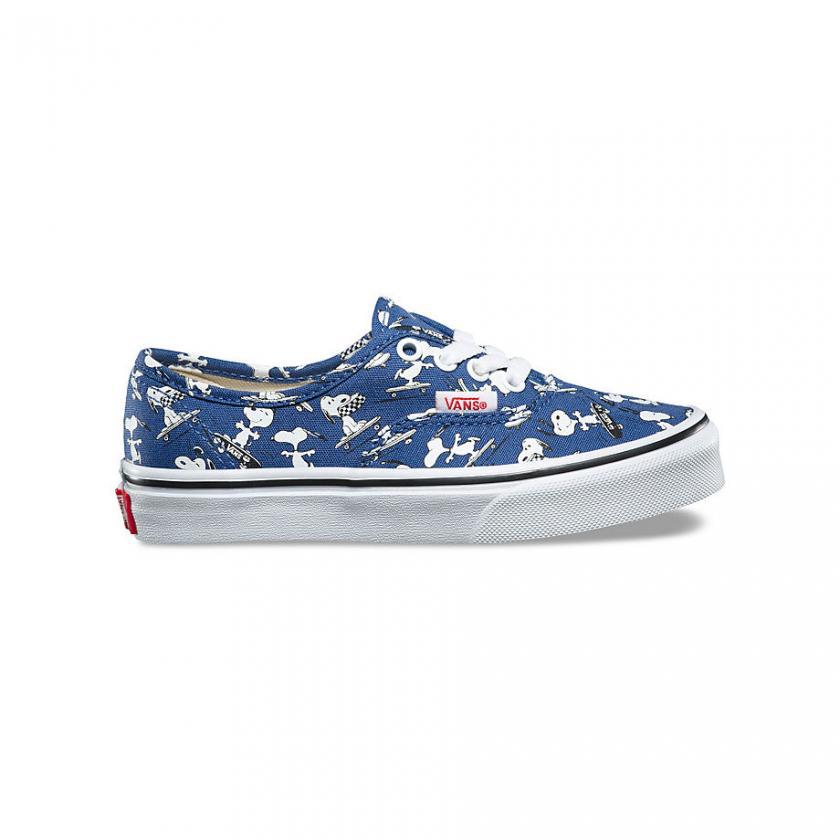 Vans Authentic – Kinder X Peanuts Authentic Snoopy/Tinte Blau