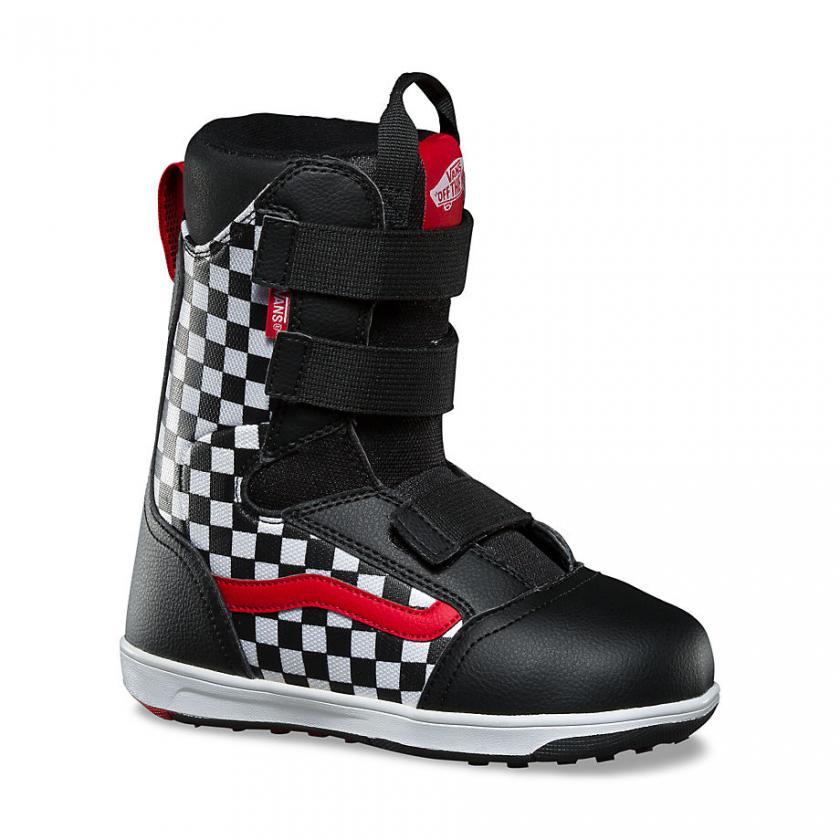 Vans – Herren Checkerboard Mantra Snowboots Black/Checkerboard