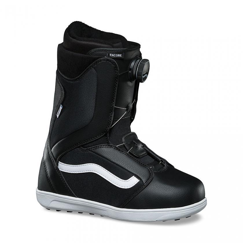 Vans – Herren Encore Snowboots Black/White