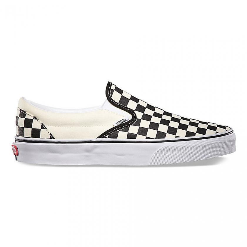 Vans – Herren/Damen Checkerboard Classic Black and White Checker/White