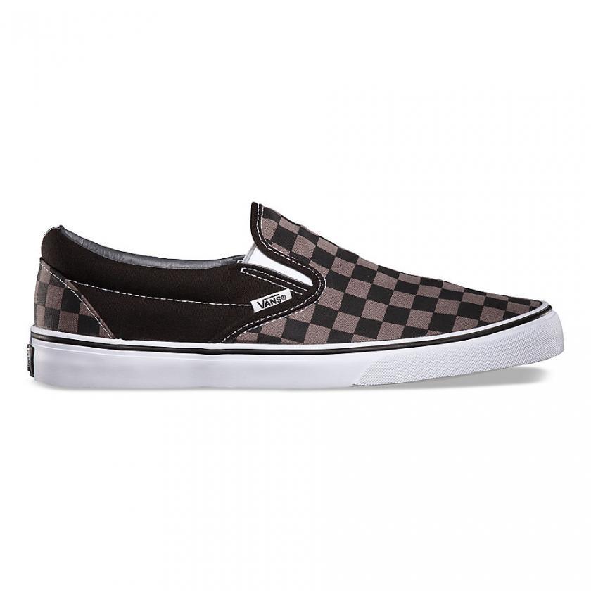 Vans – Herren/Damen Checkerboard Classic (Checkerboard) Black/Pewter