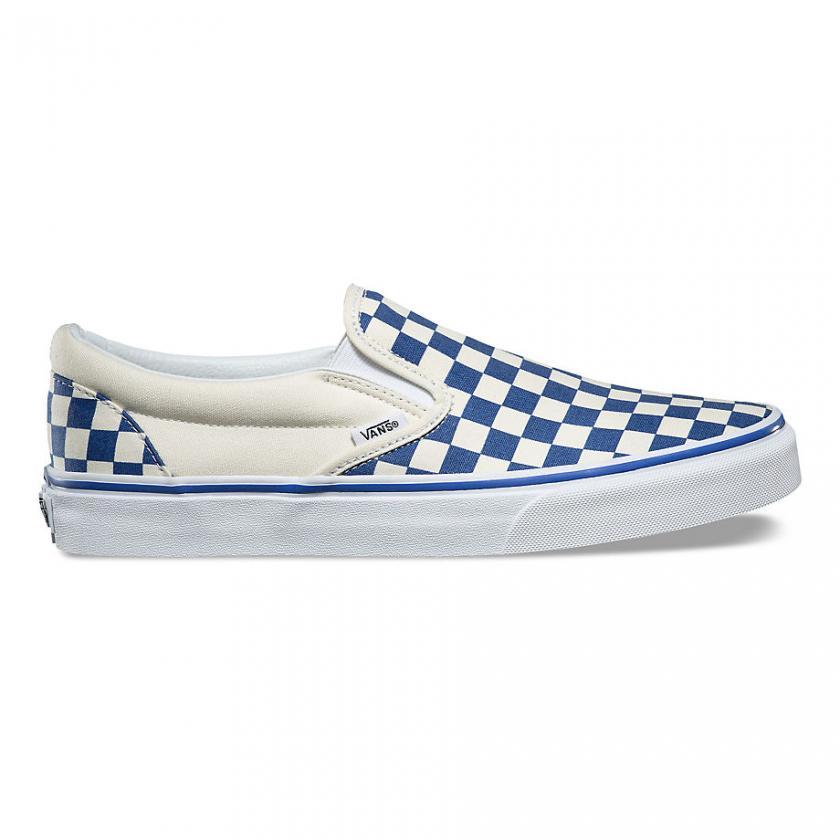 Vans – Herren/Damen Primary Check Classic True Blue/White