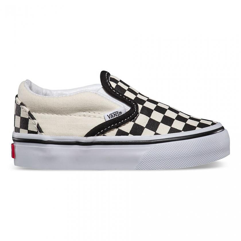 Vans – Kinder Checkerboard Black and White Checker/White