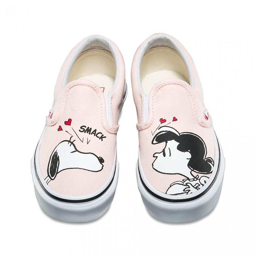 Vans – Kinder X Peanuts Classic Snoopy/Rosa