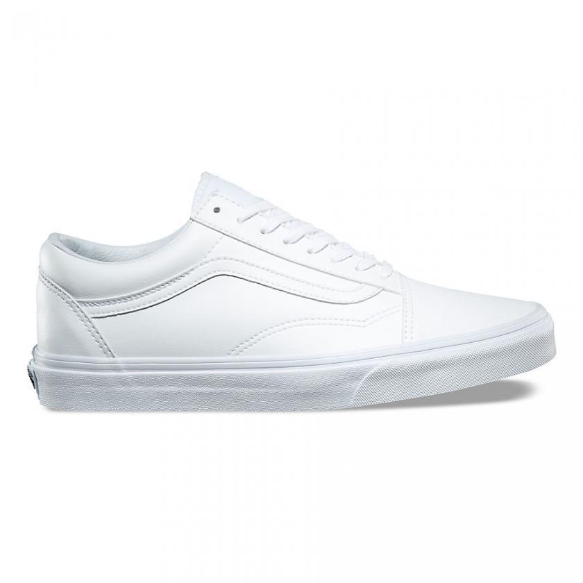 Vans Old Skool – Herren/Damen Classic Tumble Old Skool True White
