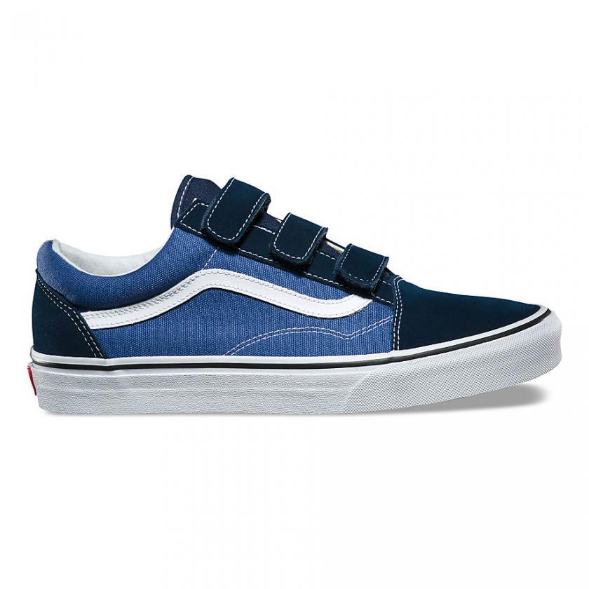 Vans Old Skool - Herren/Damen Suede Old Skool V Dress Blues/True Navy