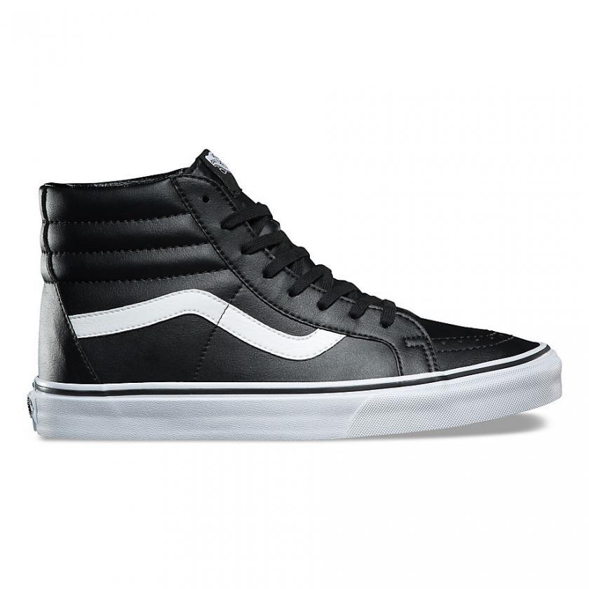 Vans SK8-Hi – Herren/Damen Classic Tumble SK8-Hi Reissue Black/True White