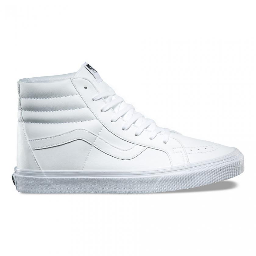 Vans SK8-Hi – Herren/Damen Classic Tumble SK8-Hi Reissue True White