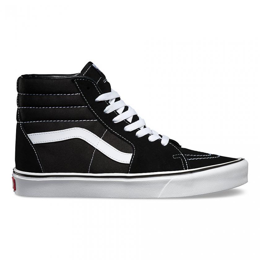 Vans SK8-Hi - Herren/Damen Suede Sk8-Hi Lite Black/White