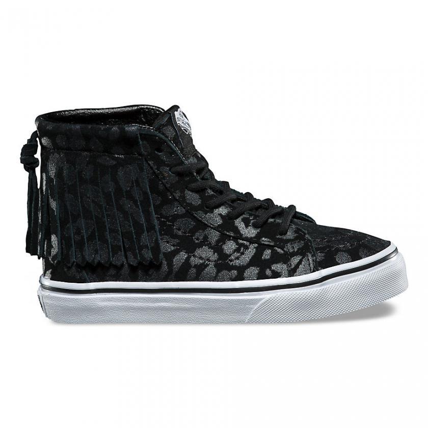 Vans SK8-Hi – Kinder Leopard Suede SK8-Hi Moc Leopard/Black