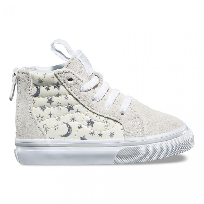 Vans SK8-Hi - Kinder Star Glitter SK8-Hi Zip Star-Glitter/White